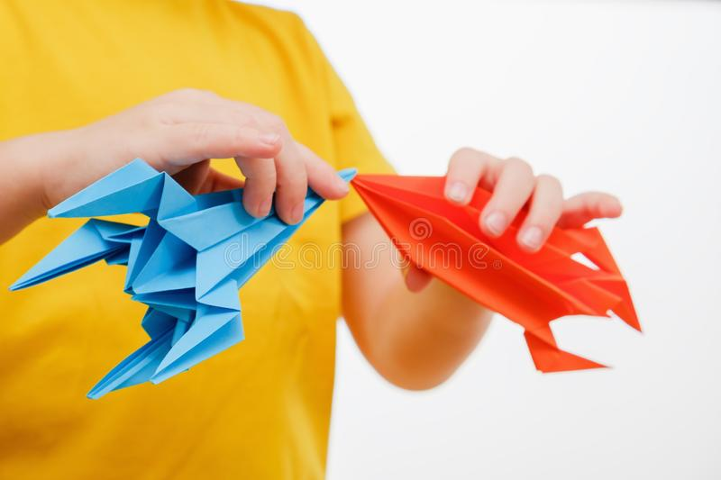 Boy play with rocket child toy dream,  aspirations. Boy play with rocket child toy dream science,  aspirations stock photo