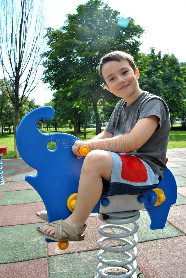 Boy playing royalty free stock photos