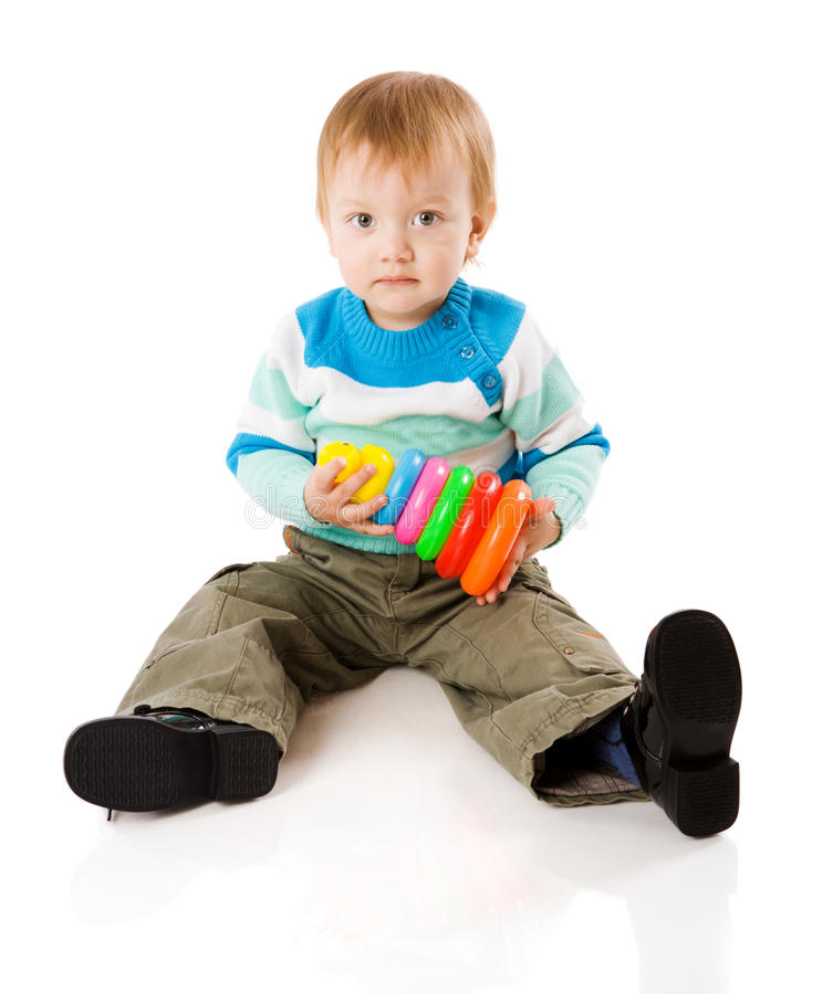 Boy Playing Royalty Free Stock Image