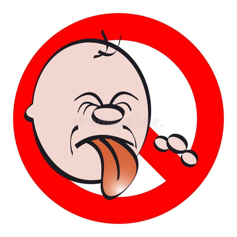Boy Poking Tongue Stock Images