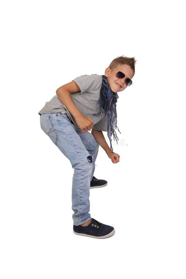 Boy posing stock images