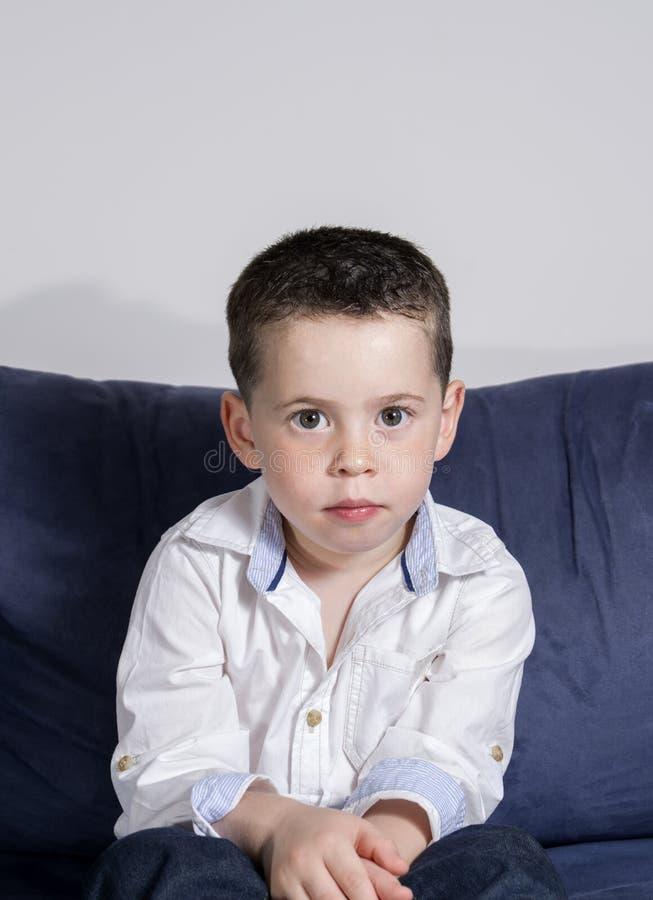 Boy posing royalty free stock photography