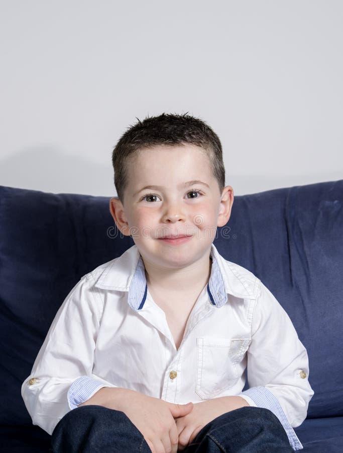 Boy posing stock photos
