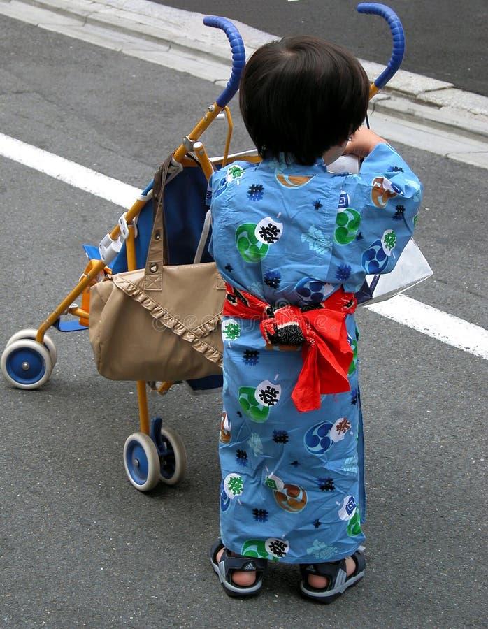 Download Boy and pram stock image. Image of chick, angel, childish - 40159