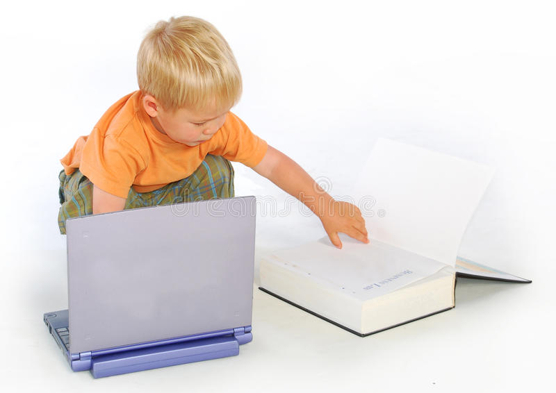 Download Boy reading law book stock image. Image of internet, education - 9650221