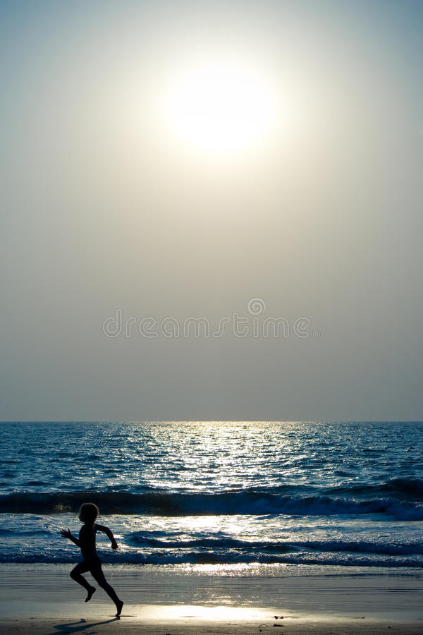 Free Boy Running On The Beach Royalty Free Stock Photos - 11680238