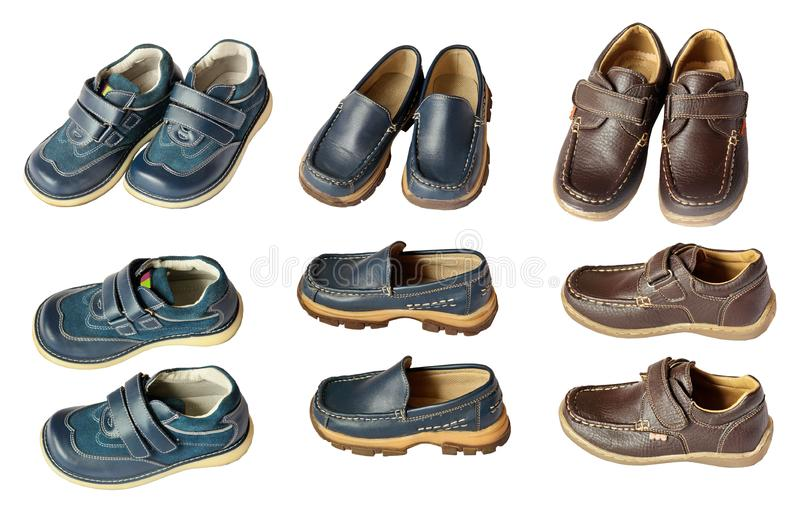 Boy's boots royalty free stock photo