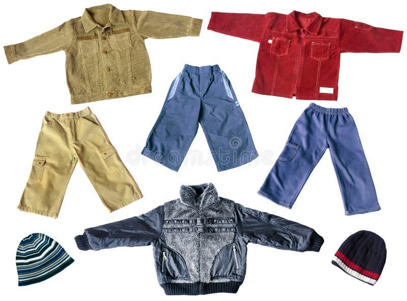 Boy's spring clothes royalty free stock photos