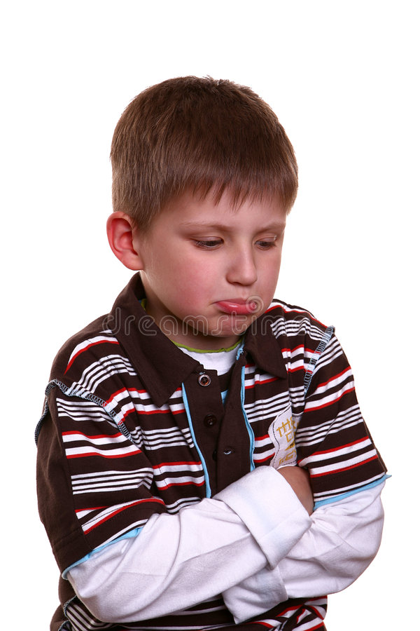 Download Boy With Sad Face Stock Images - Image: 6252884