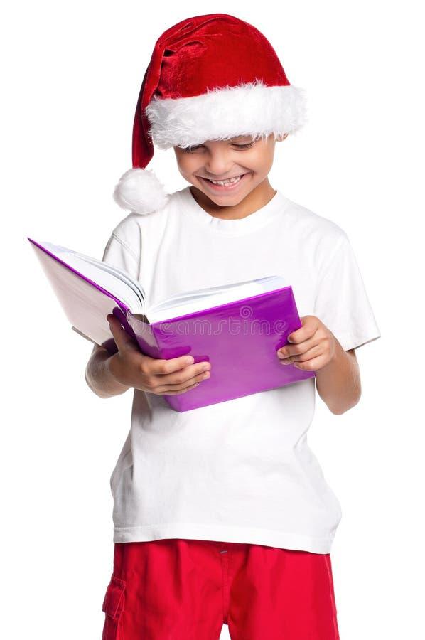 Download Boy in Santa hat stock photo. Image of cute, santa, little - 27600626