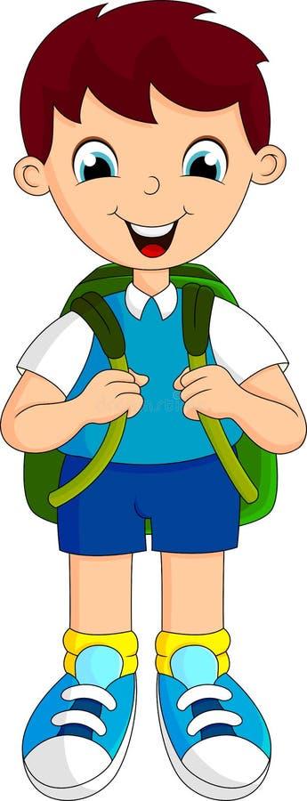 Download Boy School Cartoon Royalty Free Stock Photos - Image: 34869348