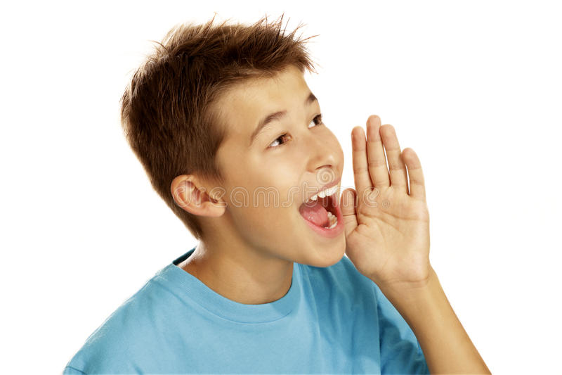 Download Boy Screaming Royalty Free Stock Images - Image: 25876709