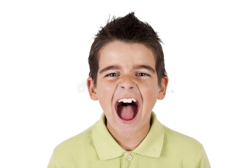 Download Boy Screaming Stock Photos - Image: 35957823
