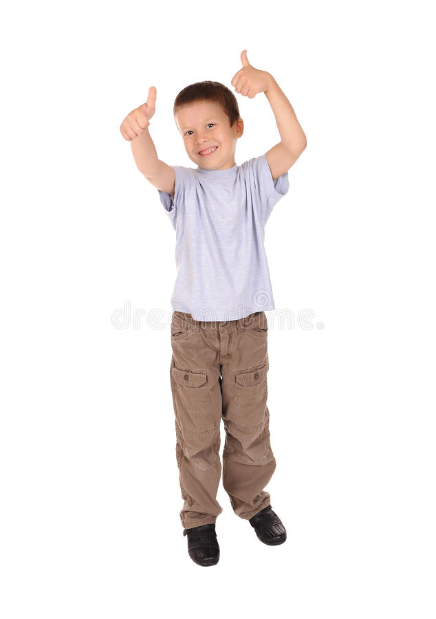 Download Boy shows gesture okay stock image. Image of happiness - 26561857