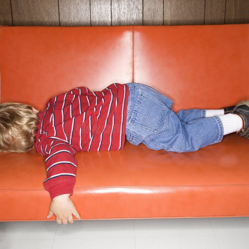 Free Boy Sleeping. Stock Photos - 2431793