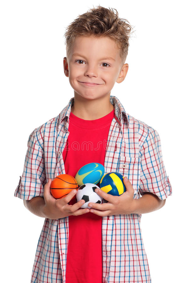 Download Boy With Small Balls Royalty Free Stock Images - Image: 26841619