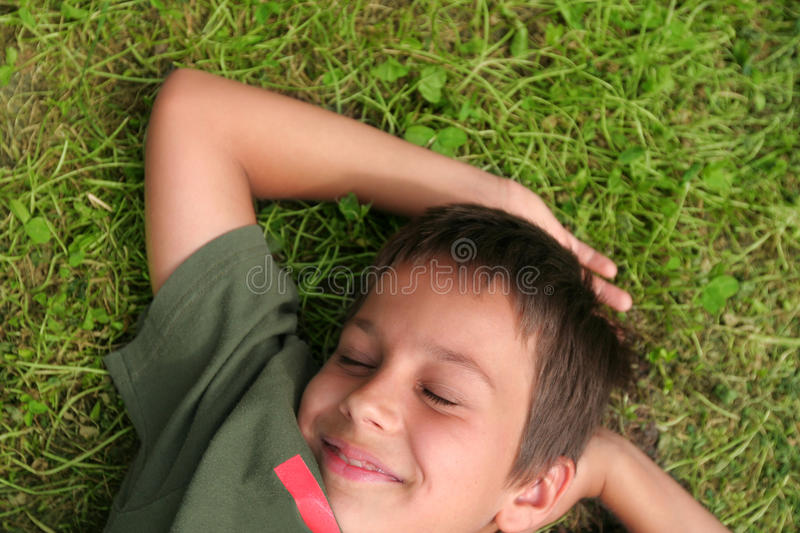 Boy Smile royalty free stock images