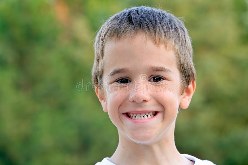 Download Boy Smiling stock image. Image of boys, american, cute - 4002743