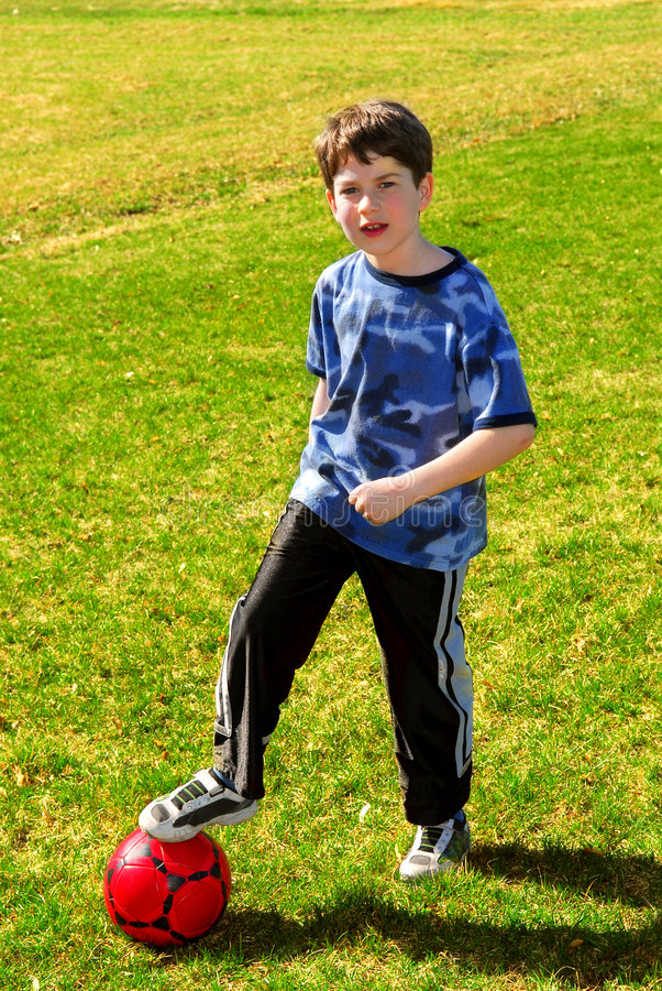 Download Boy With Soccer Ball Stock Photos - Image: 2309143