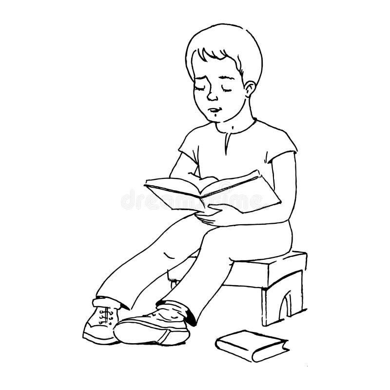Download Boy studying stock illustration. Illustration of notes - 22802172