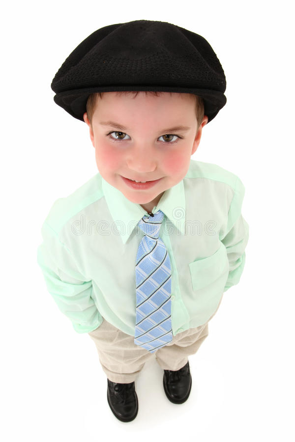 Boy In Suit And Kangol Looking Up Stock Photos