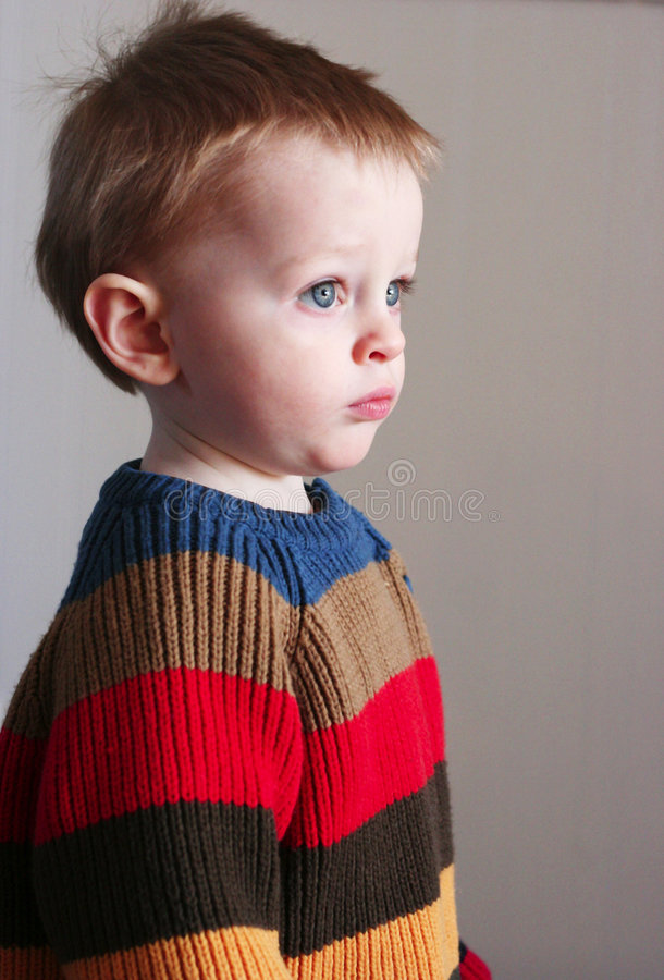 Download Boy in sweater stock image. Image of warm, blue, brown - 2086723