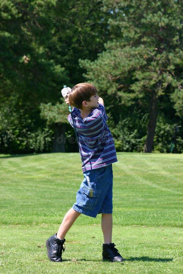 Free Boy Swinging Stock Image - 1244511