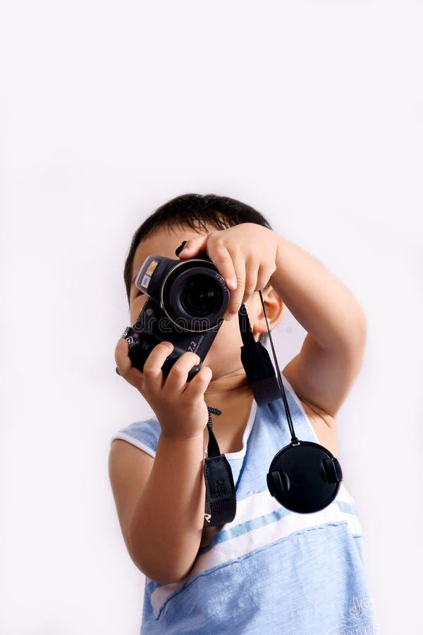 Download Boy taking photos stock photo. Image of child, holding - 10189504