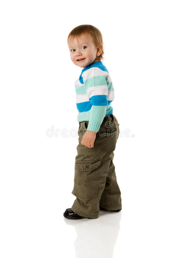 Free Boy Turning Back Stock Photography - 18237472