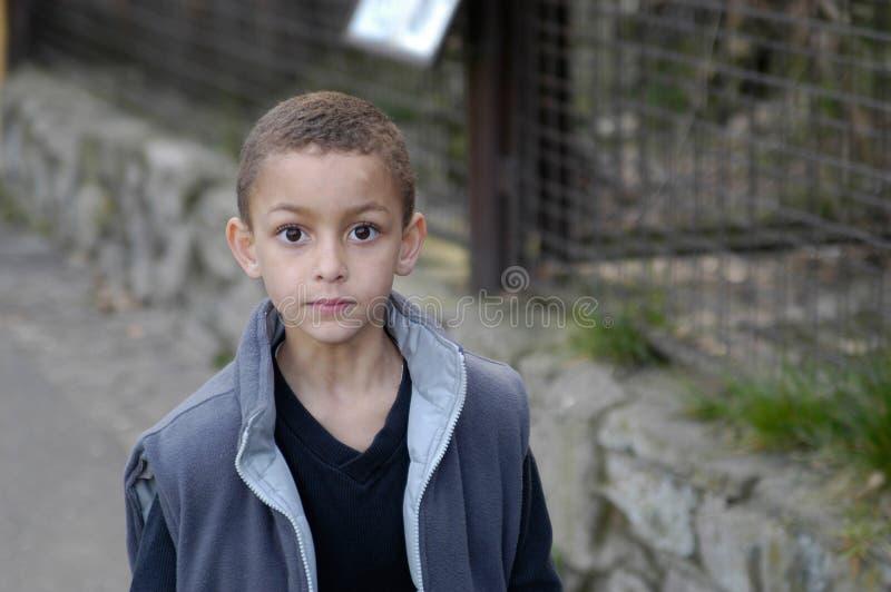 A boy walking royalty free stock photography
