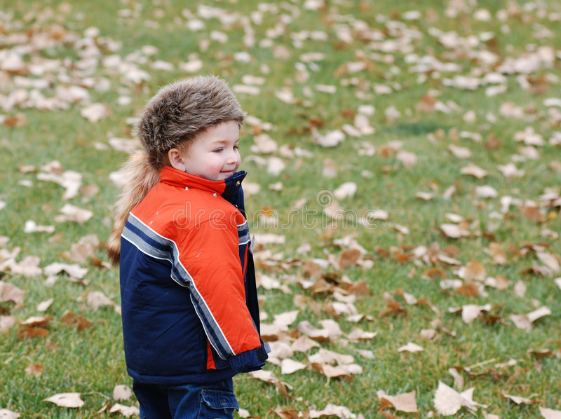 Download Boy In Warm Clothing Royalty Free Stock Photo - Image: 5254865