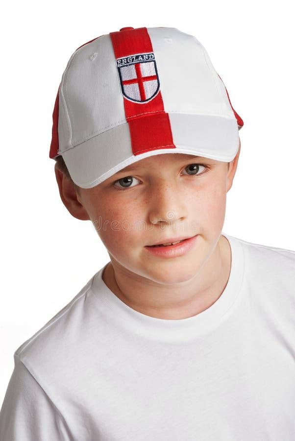 Download Boy Wearing England Football Cap Stock Photo - Image: 23284484