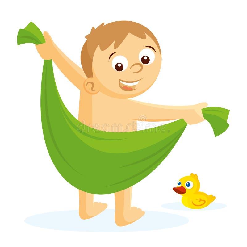 Towel stock illustration. Illustration of bright, hotel ...