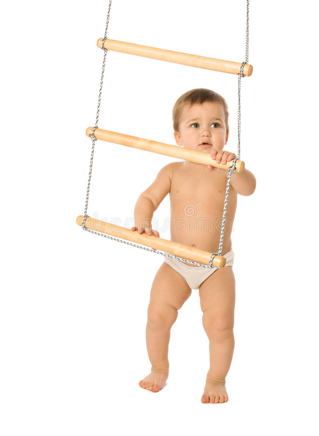 Free Boy With A Rope-ladder 3 Stock Photos - 4792903