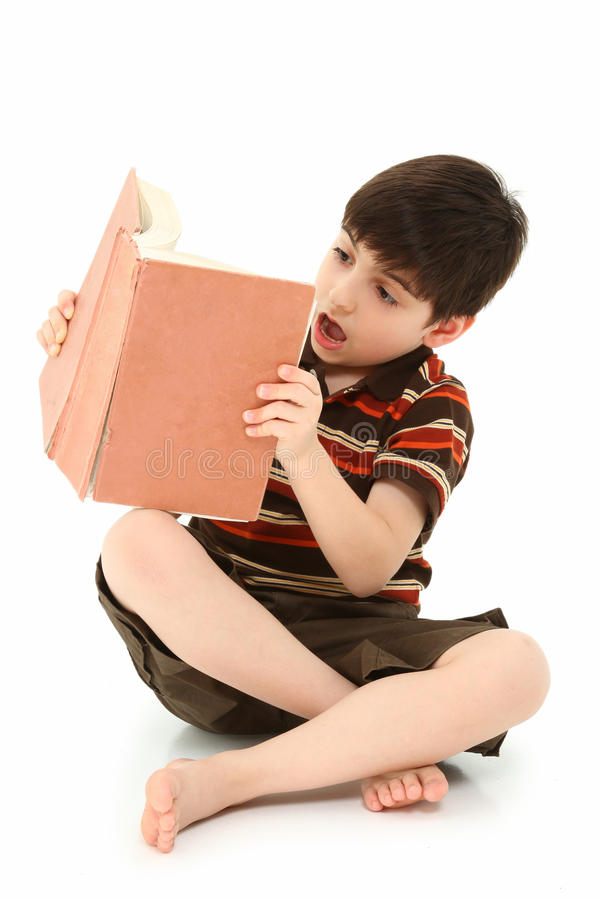 Free Boy With Book Royalty Free Stock Image - 15502796