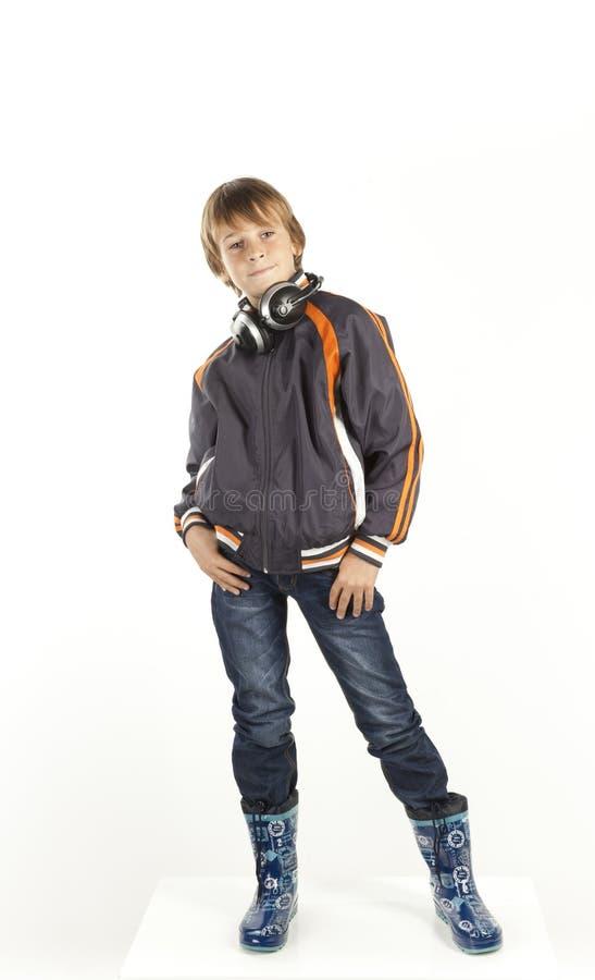 Free Boy With Headphones Stock Image - 36756801