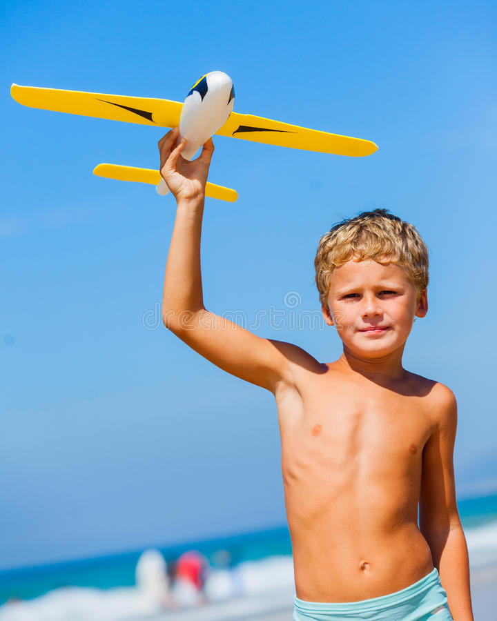 Free Boy With Kite Royalty Free Stock Image - 51988666