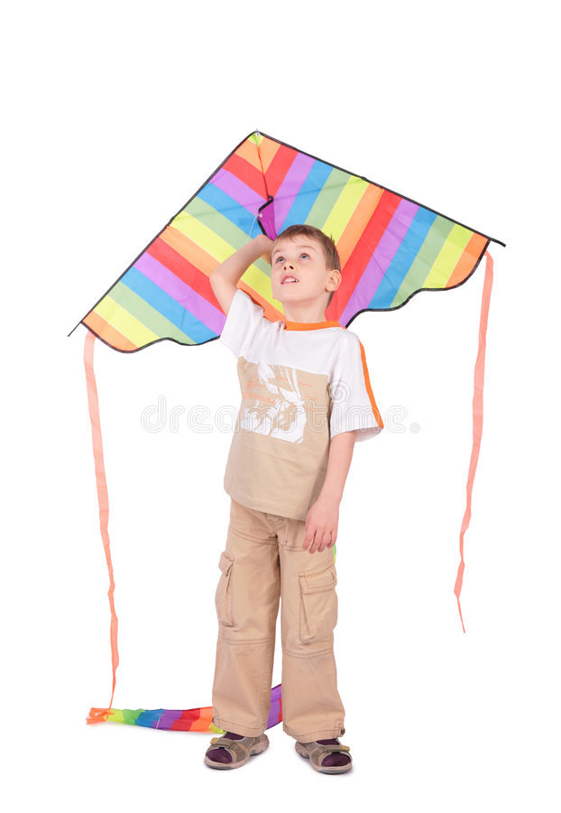 Free Boy With Kite Stock Images - 6198164