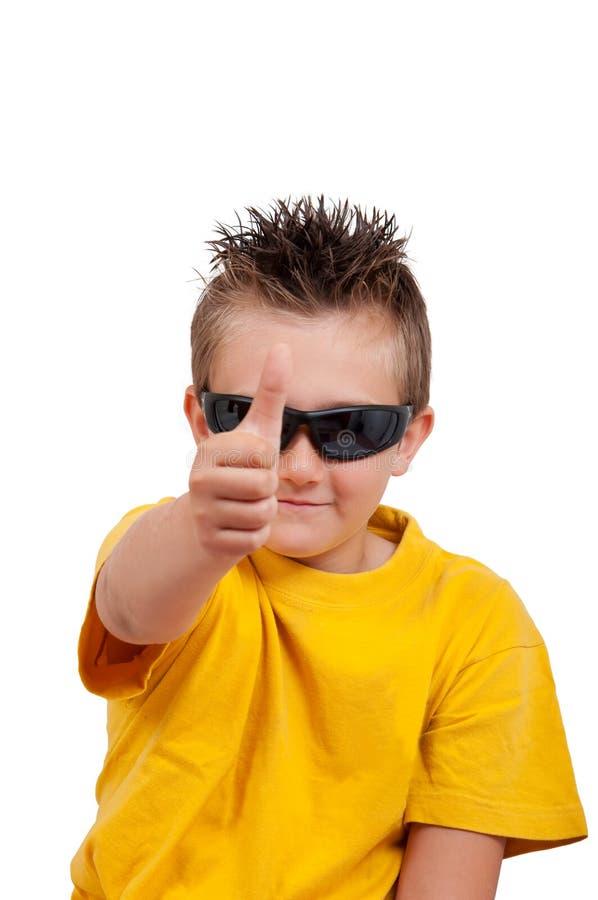 Free Boy With Sunglasses Stock Photos - 15632213