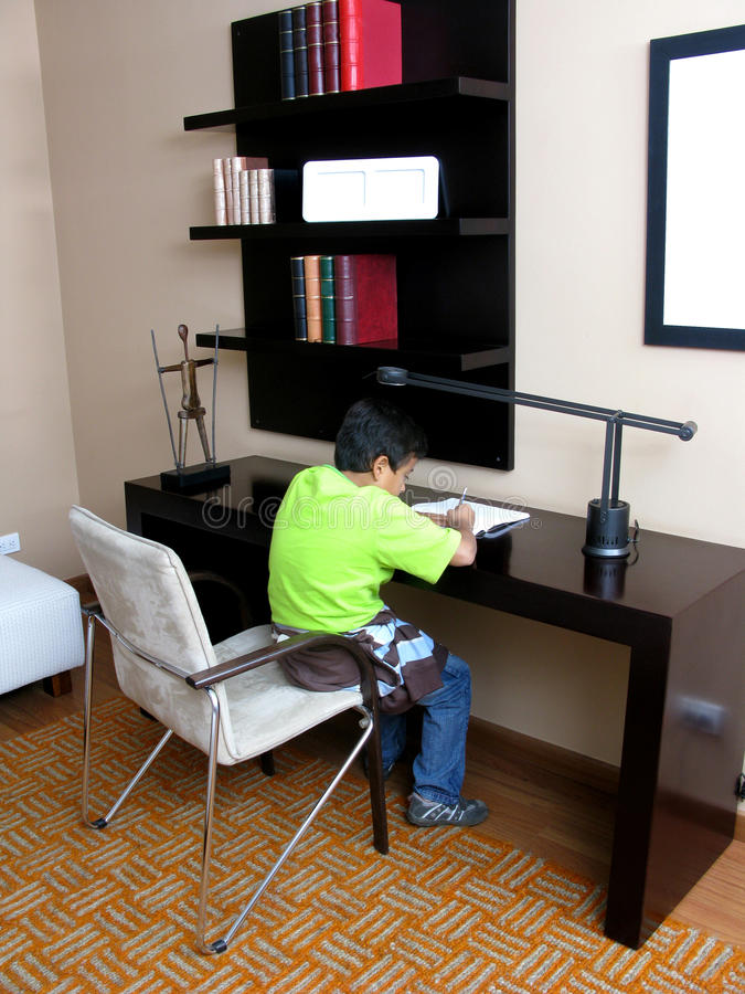 Download Boy Writing Royalty Free Stock Photography - Image: 13452867