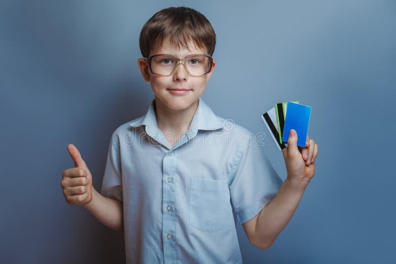 Teenage Boy About Ten Years Old European Stock Photo