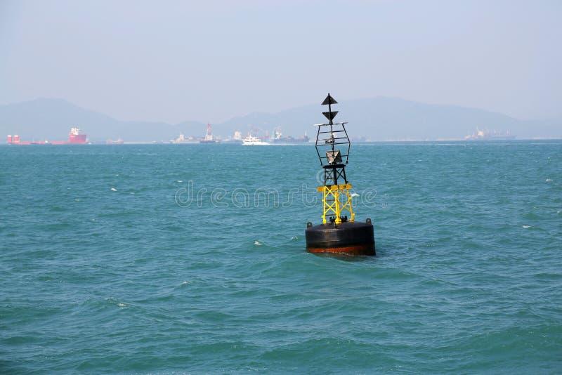 Boya marítima fotografía de archivo libre de regalías