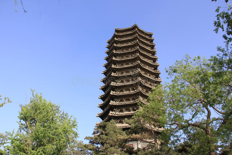 Boya Tower royalty free stock images