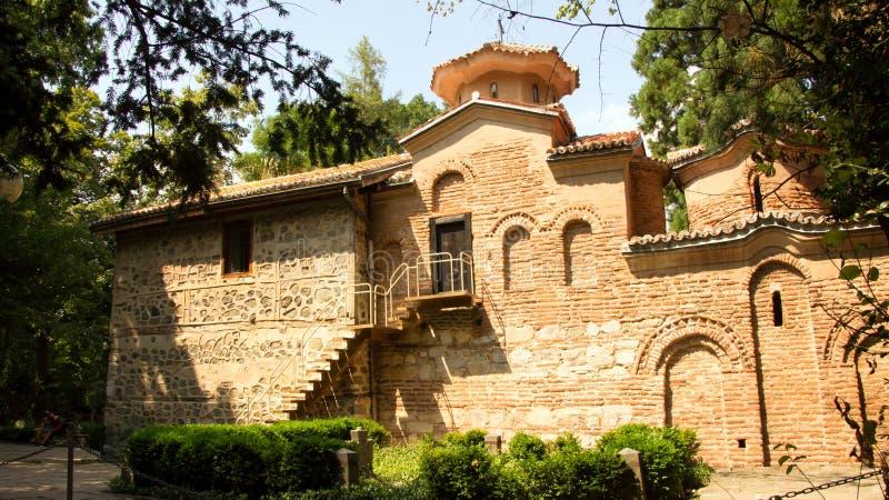Boyana教会在索非亚,保加利亚 免版税库存照片