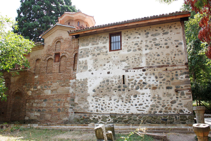 Boyana Church in Sofia stock photo