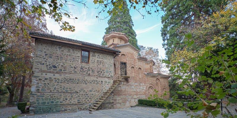 Boyana-Kirche Bulgarien lizenzfreie stockfotografie