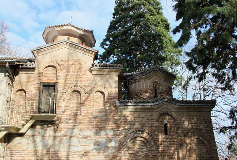 Boyanakerk in Sofia stock afbeeldingen