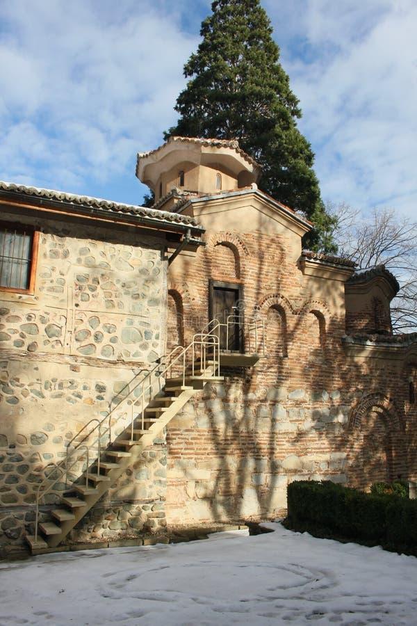 Boyanakerk in Sofia royalty-vrije stock fotografie