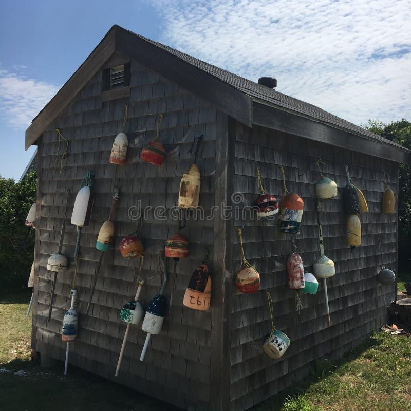 Boyas de Nantucket fotos de archivo libres de regalías