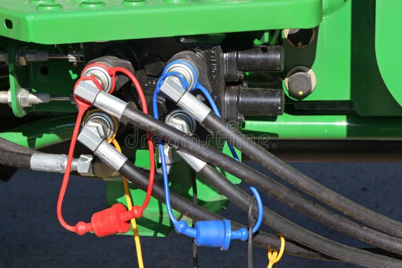 Boyaux hydrauliques photographie stock